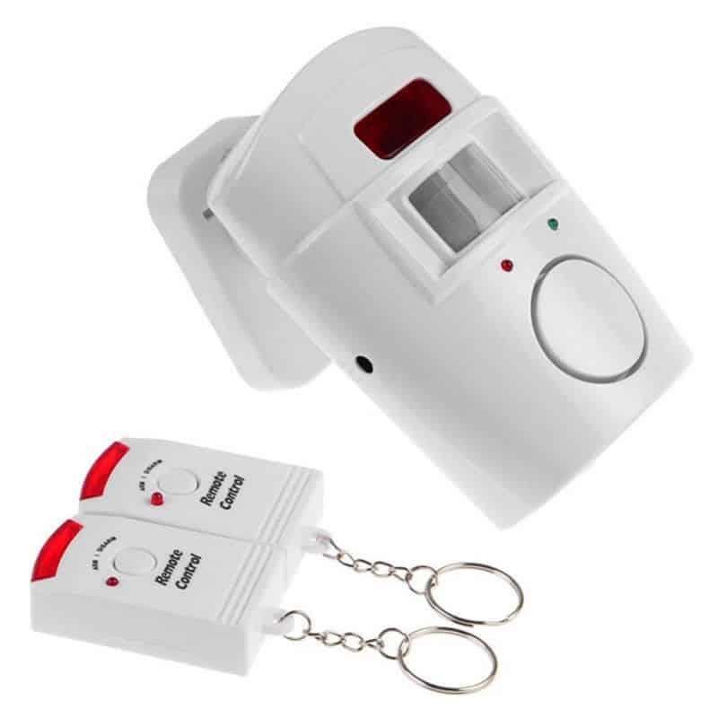 Alarma cu senzor de miscare, 2 telecomenzi
