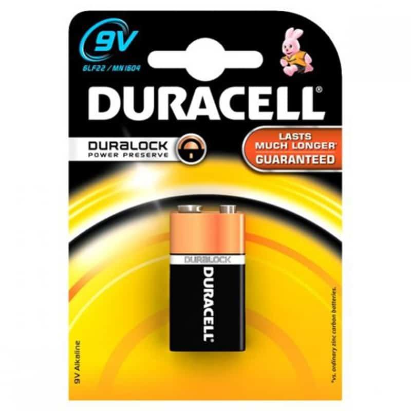 Baterie alcalina Duracell 9V