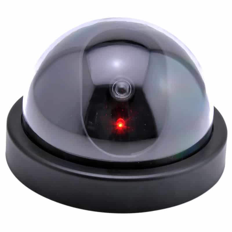 Camera supraveghere tip Dome, falsa, Negru