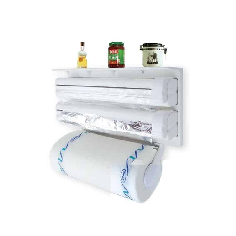 Dispenser pentru hartie si folie de aluminiu