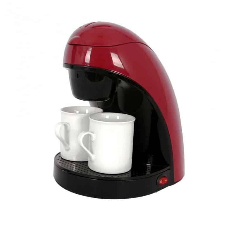 Filtru de cafea Victronic VC609R, 450 W, 2 cani portelan