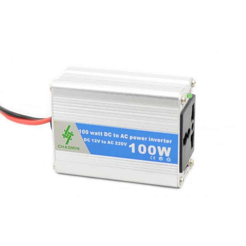 Invertor tensiune Chaomin 100W, 12V-220V