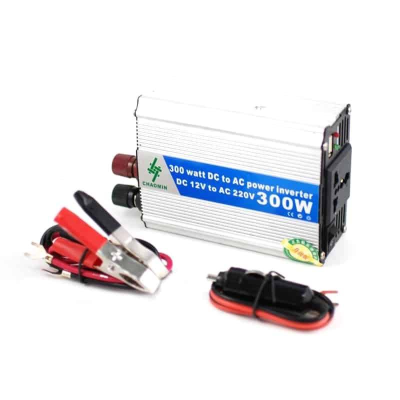Invertor tensiune Chaomin 300W, 12V-220V