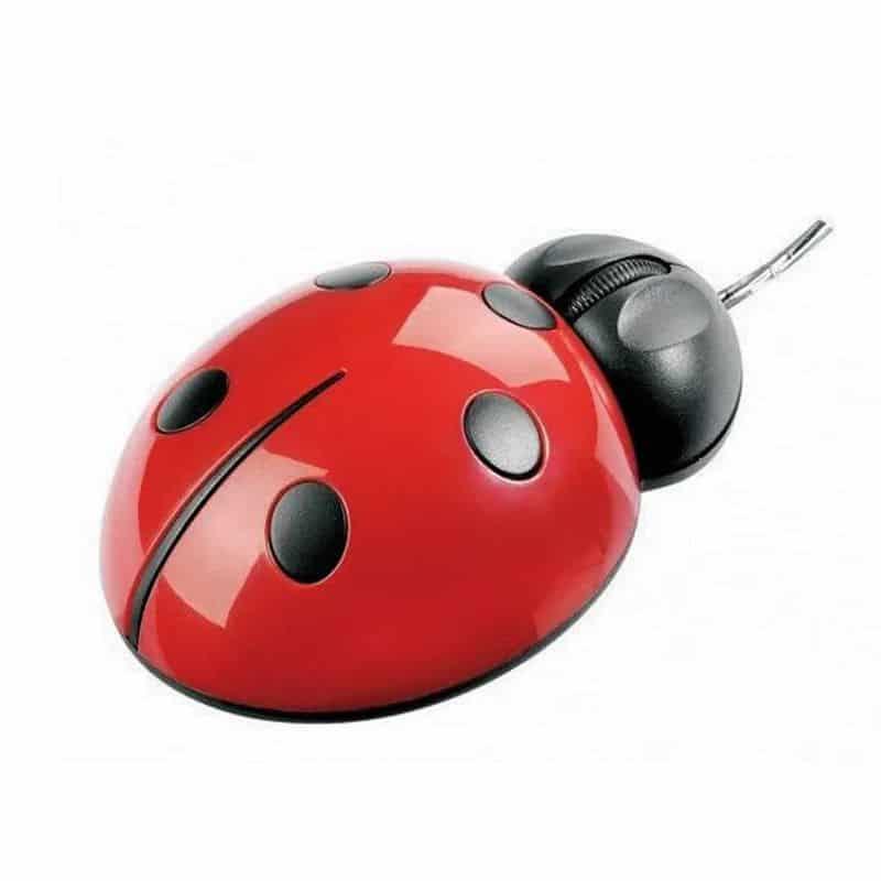 Mouse optic Gargarita, 1200 dpi, rosu