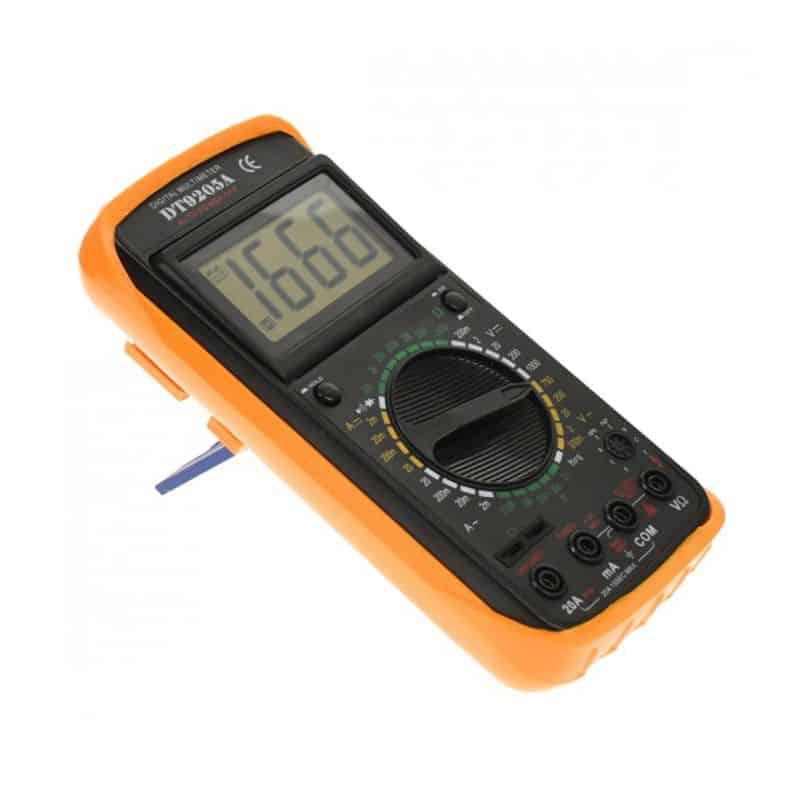 Multimetru digital DT-9205A, carcasa antisoc