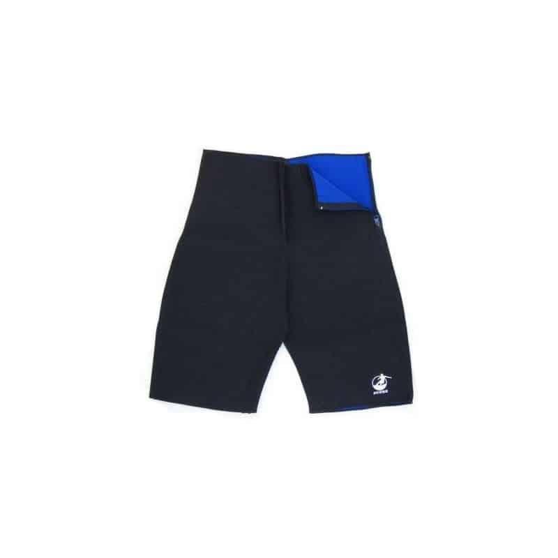 Pantaloni fitness Short Bermuda, neopren, 2 fete