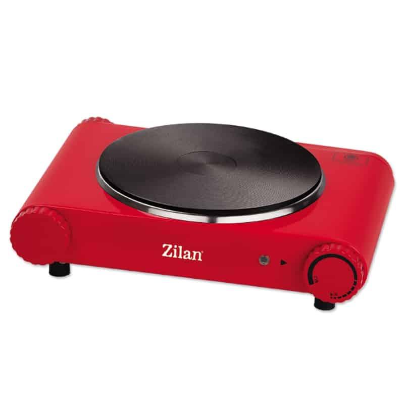 Plita electrica Zilan ZLN-8266, 1500W, rosu