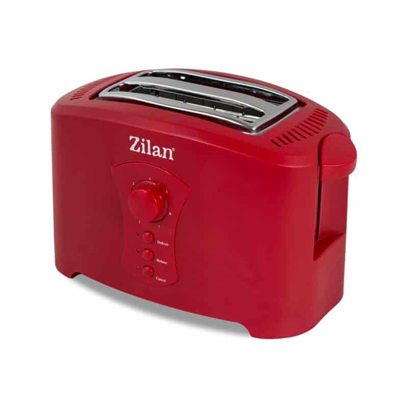 Prajitor paine Zilan ZLN-8310, 750W, 7 nivele, rosu