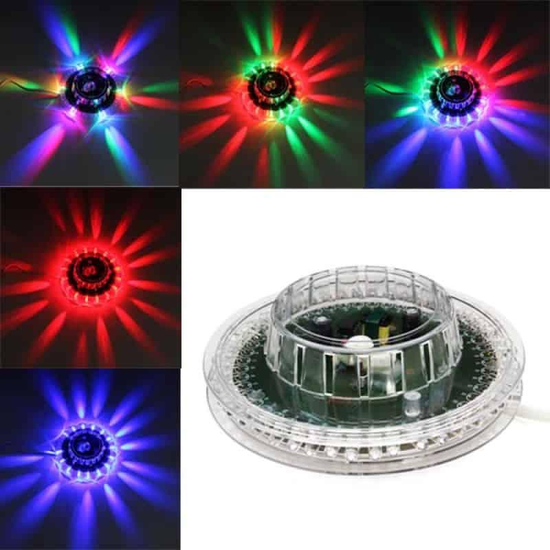 Proiector lumini Little Sun, RGB, 48 Leduri