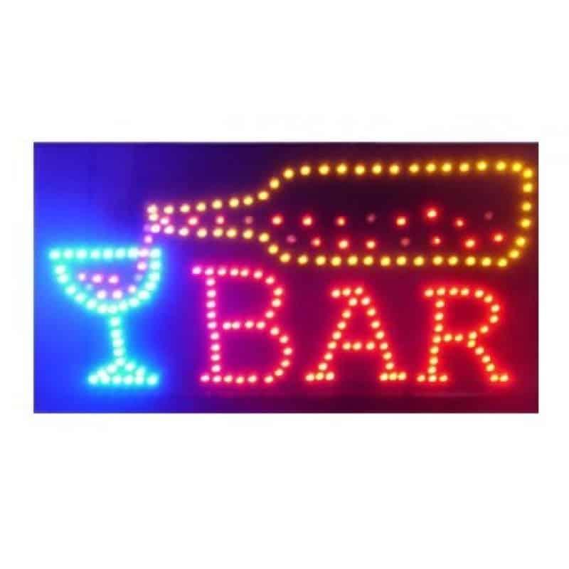 Reclama luminoasa dinamica Bar