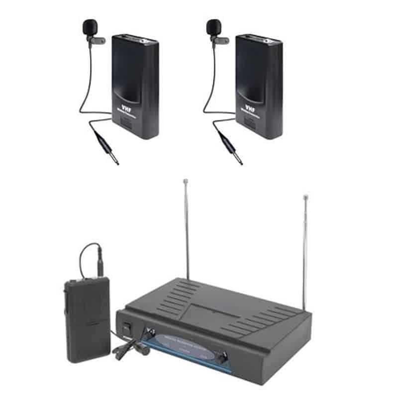 Set microfoane lavaliera NC-210
