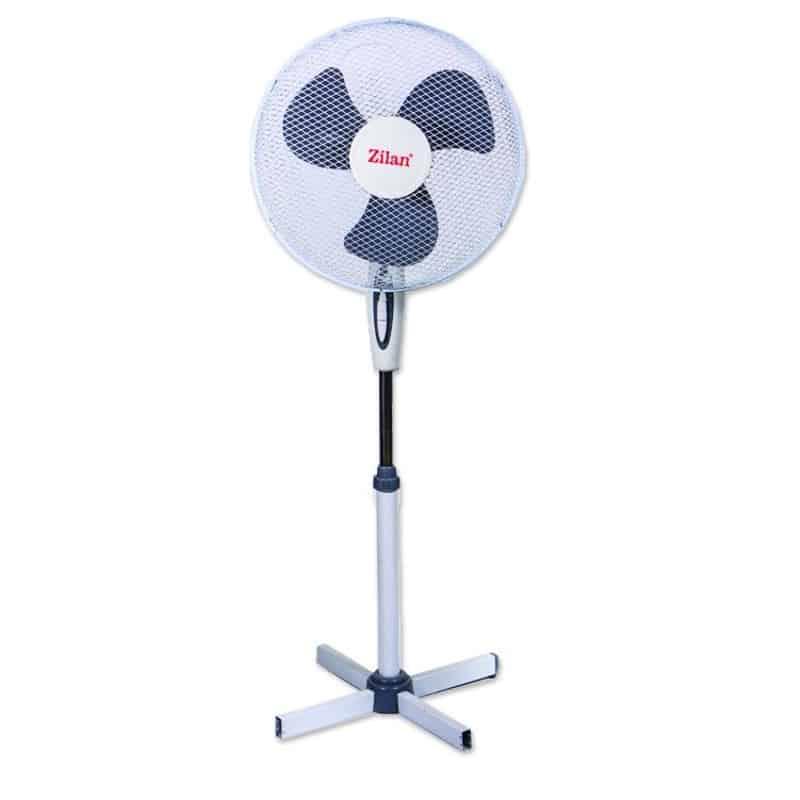 Ventilator de podea Zilan ZLN-3262, 3 viteze, 45W