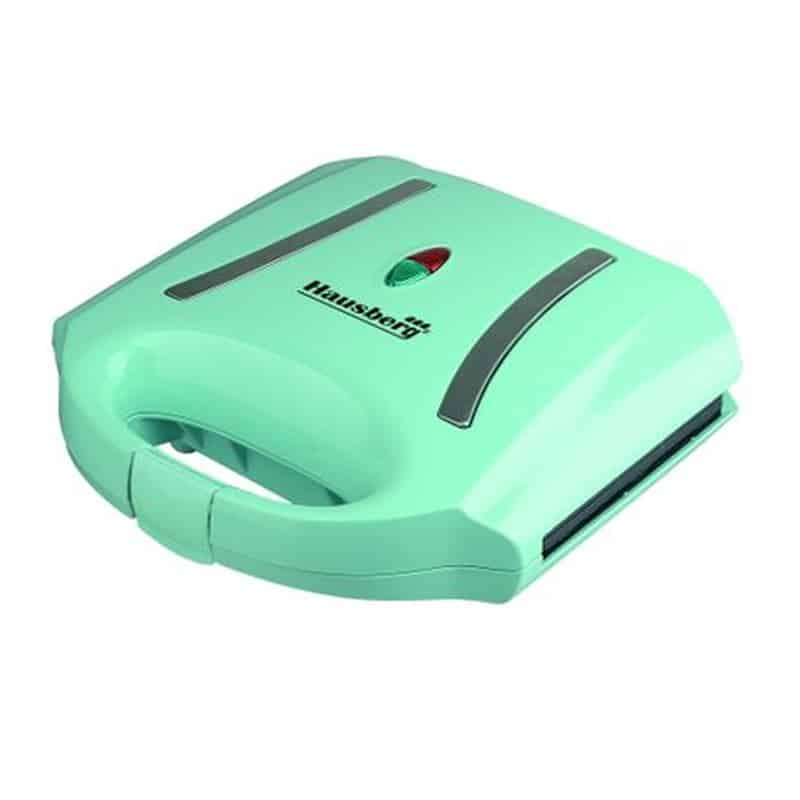 Sandwich Maker Hausberg HB-3535, 800 W, LED, Turquoise