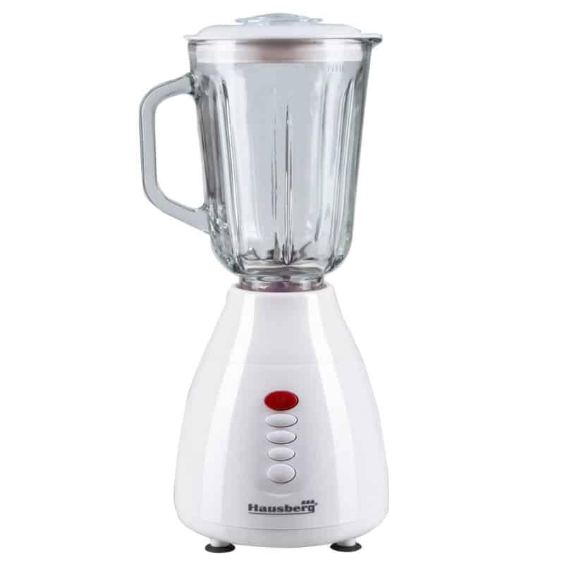 Blender 2 in 1 Hausberg HB-7761, 300W, 1.5 litri, alb