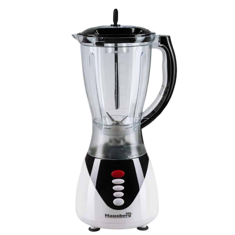 Blender 2 in 1 Hausberg HB-7761NG, 300W, 1.5 litri, negru