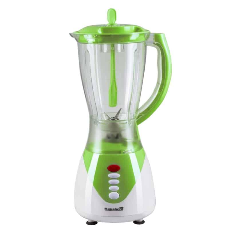 Blender 2 in 1 Hausberg HB-7761V, 300W, 1.5 litri, verde