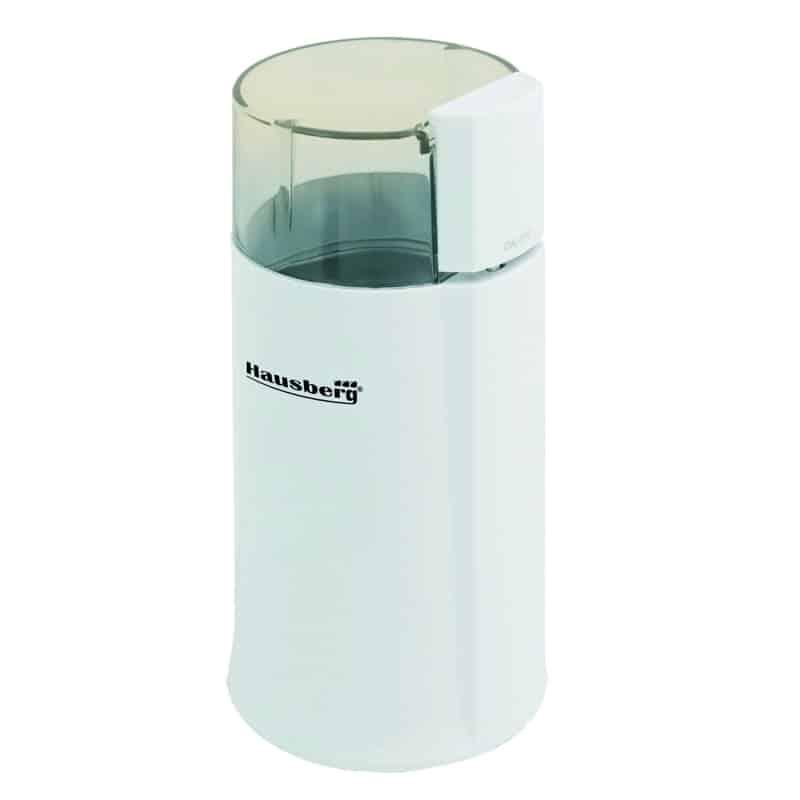 Rasnita cafea Hausberg HB-7565, 160 W, alb