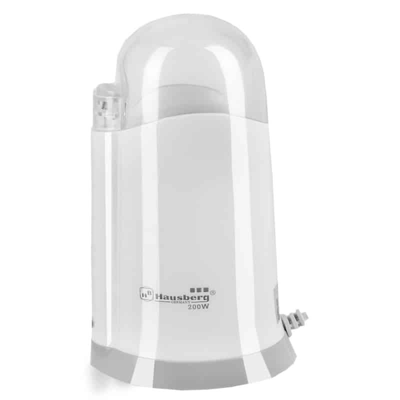 Rasnita electrica cafea Hausberg HB-7562, 200 W, alb