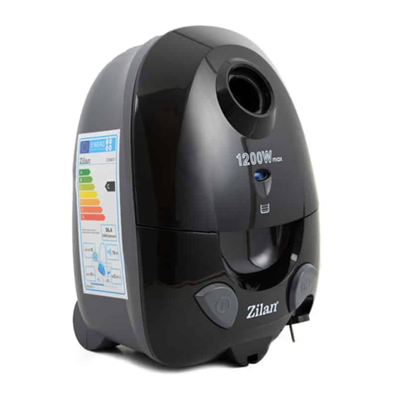 Aspirator cu sac Zilan ZLN-8471,1200 W, negru