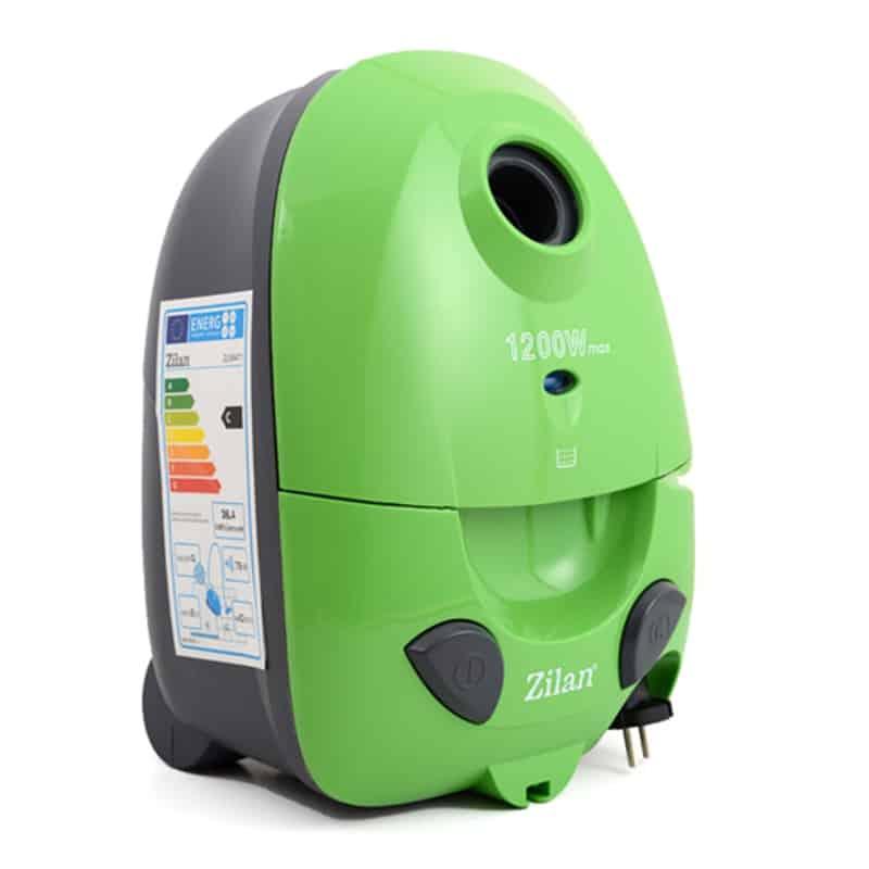 Aspirator cu sac Zilan ZLN-8471,1200 W, verde