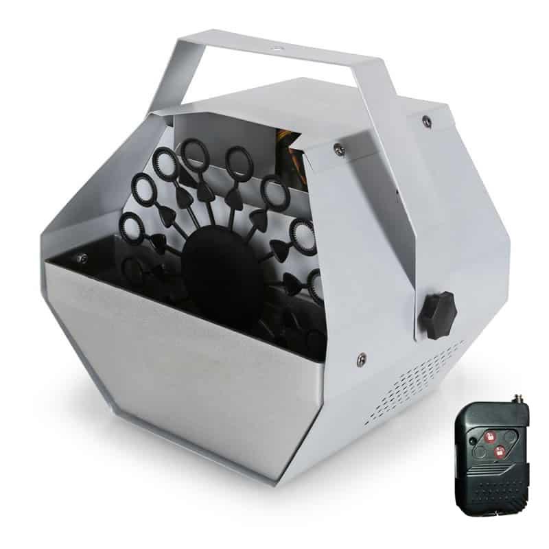 Masina de facut baloane, 60 W, telecomanda, argintiu