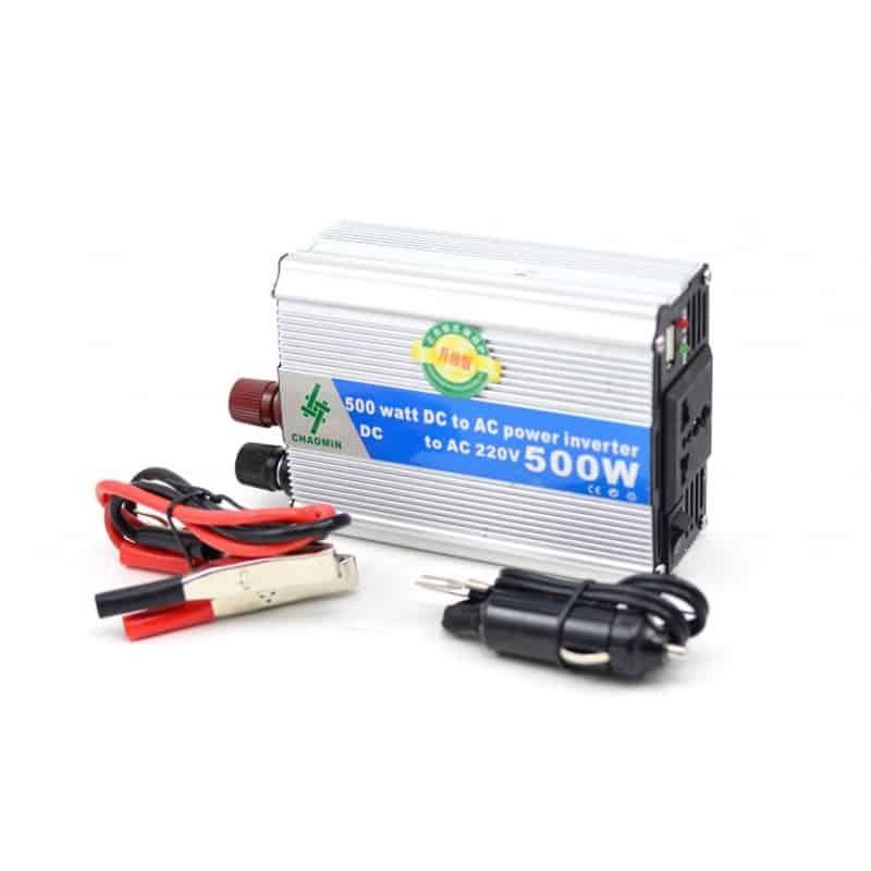 Invertor tensiune Chaomin 500W, 24V-220V