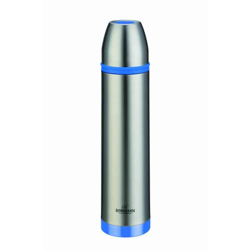 Termos inox Bohmann BH-4491, 800 ml, Albastru