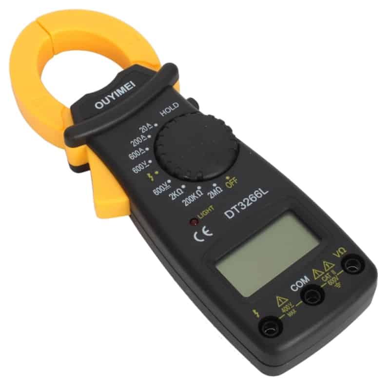 Clampmetru digital DT3266L, negru