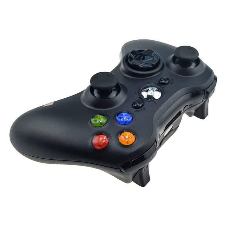 Controller wireless compatibil XBOX 360 sau PC, Negru