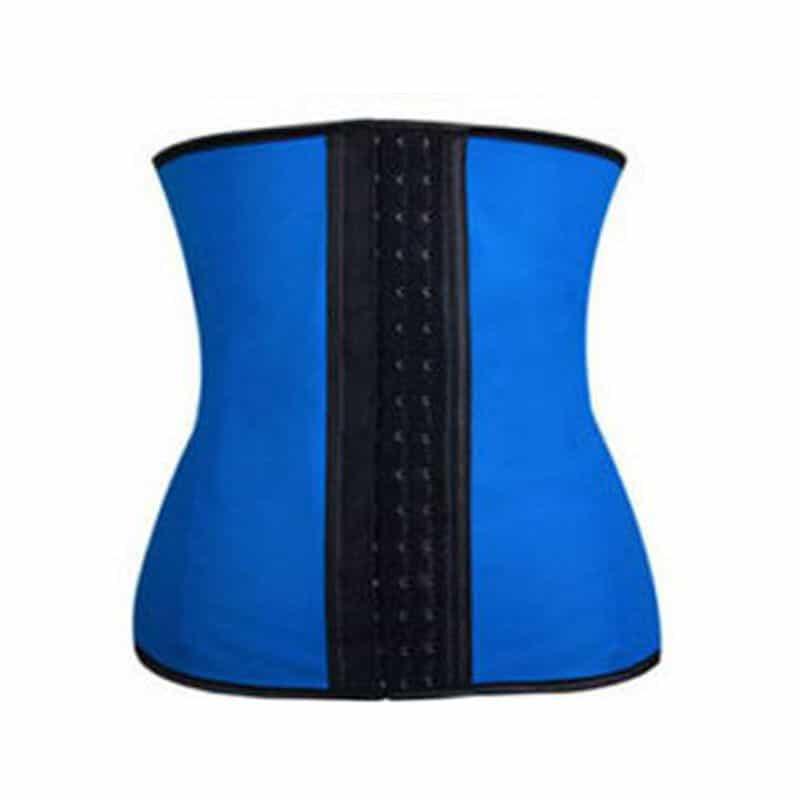 Corset-modelator-talie-de-viespe-Sculpting-Clothes-albastru