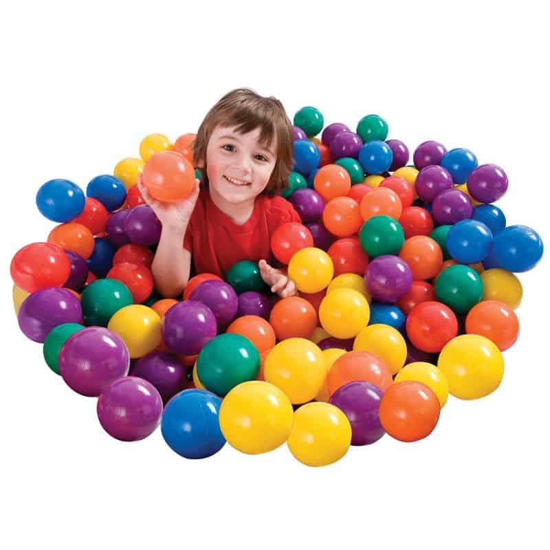 Minge colorata Intex Fun Ballz
