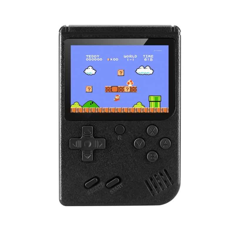 Consola portabila Gameboy Sup, 400 jocuri, acumulator, negru