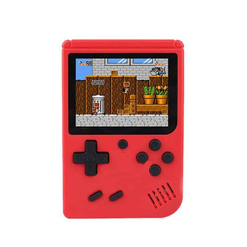 Consola portabila Gameboy Sup, 400 jocuri, acumulator, rosu