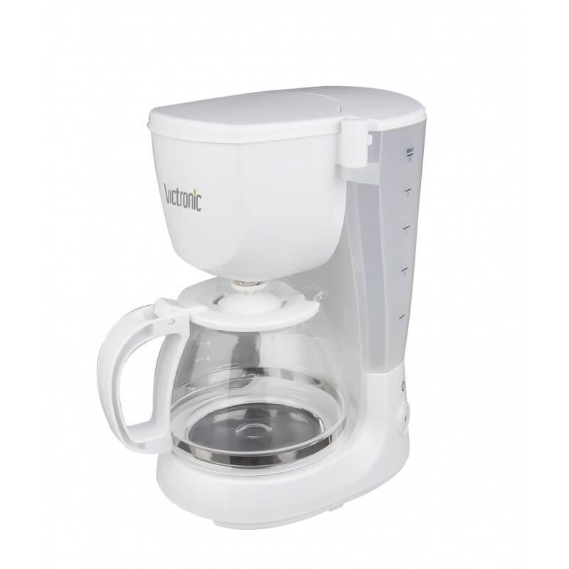 Filtru cafea Victronic VC606, 800W, 1.2 l, alb