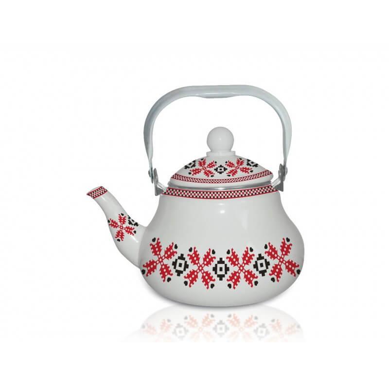 Ceainic eamilat Grunberg GR1500, 1.5 litri, (motive traditionale)