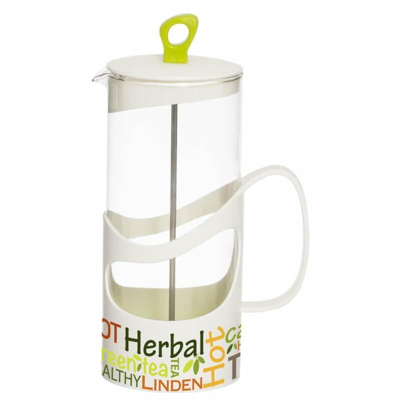 Infuzor din sticla pentru ceai sau cafea Herevin TGR3113, 660 ml