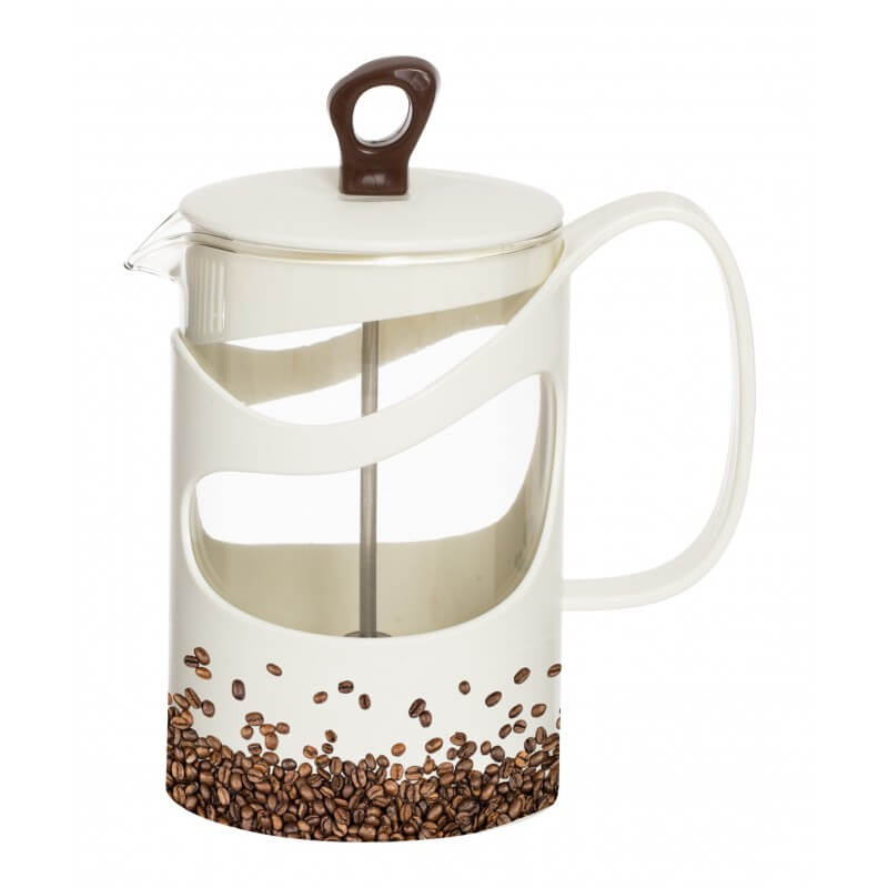 Infuzor din sticla pentru ceai sau cafea Herevin TGR3114, 1000 ml